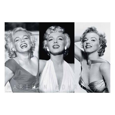 Marilyn Monroe Trio Poster