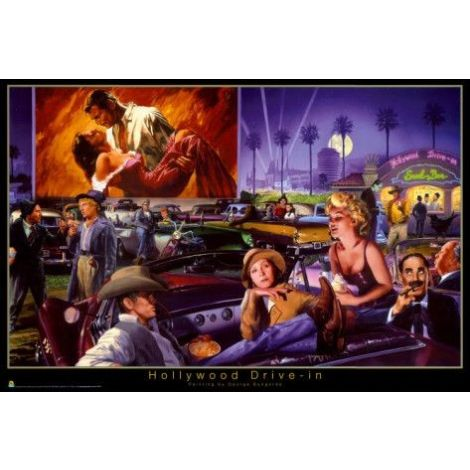 Hollywood Drive-In Poster