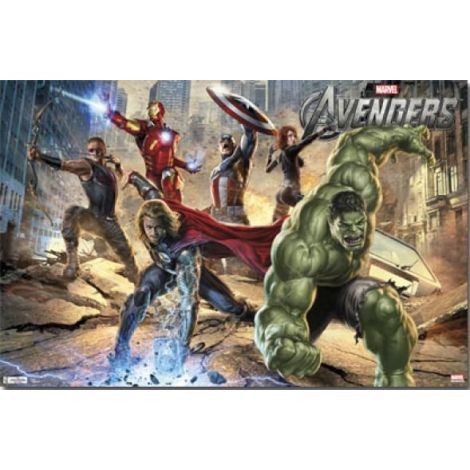 The Avengers Group Movie Poster