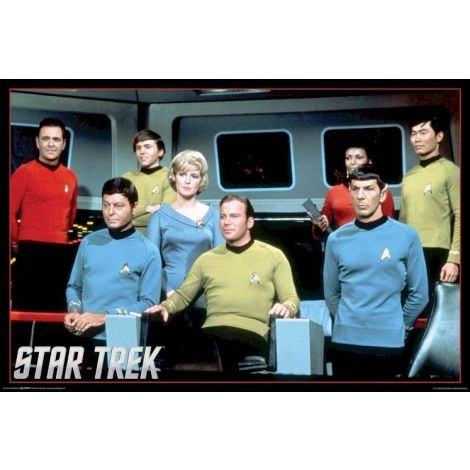 Star Trek TV Original Series Poste