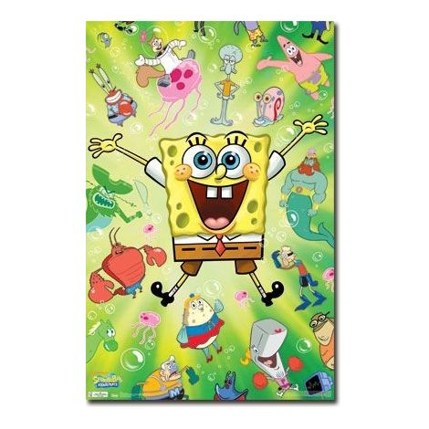 Spongebob and friends Poster