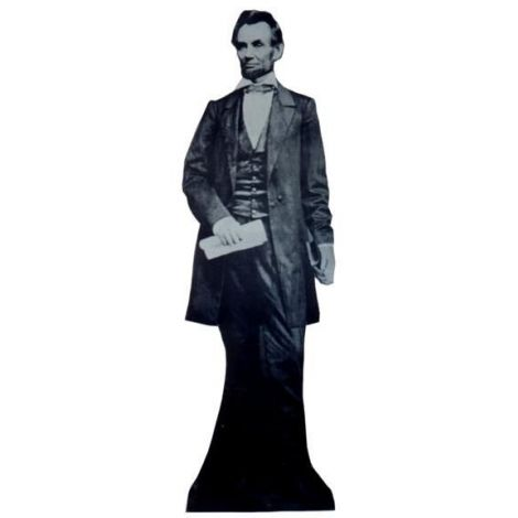 Abraham Lincoln Cutout *300