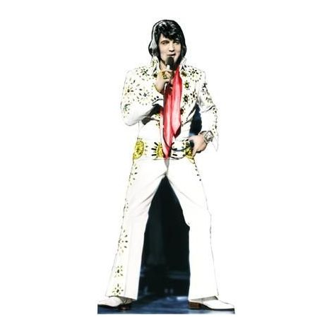 Elvis '25th Anniversary' Cutout #391