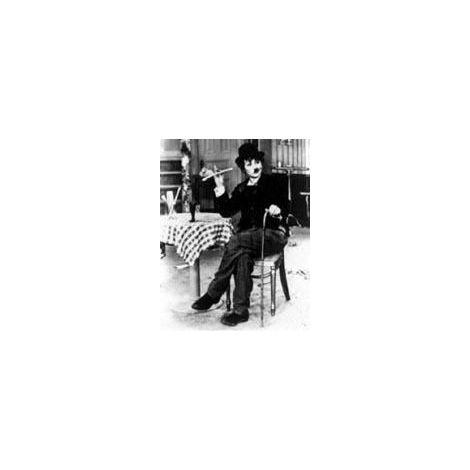 Lucille Ball as Charlie Chaplin