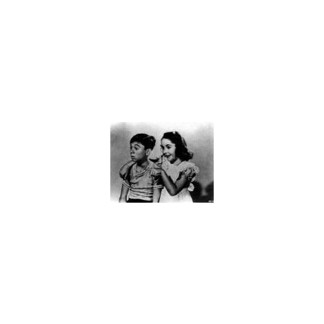 Elizabeth Taylor and Alfalfa