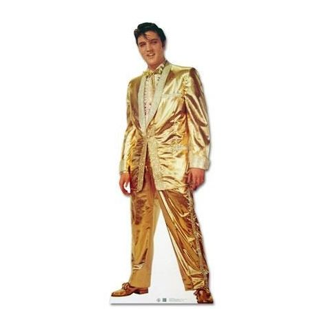 Elvis 'Gold Suit' Cutout
