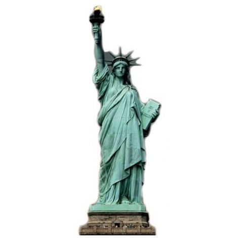 Statue of Liberty Cutout 373