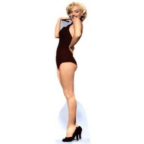 Marilyn Monroe, 'Black Swimsuit' Cutout 361