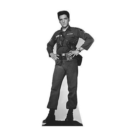 Elvis 'G.I. Blues' Cutout #382