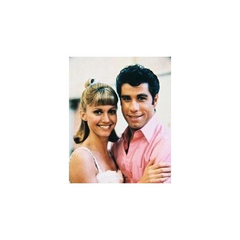John Travolta & Olivia Newton John in Grease