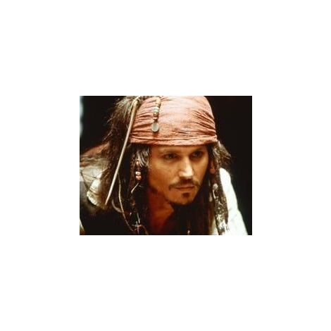 "Johnny Depp from ""Pirates of the Caribbean 2"""