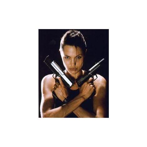 Angelina Jolie 'pistols' print