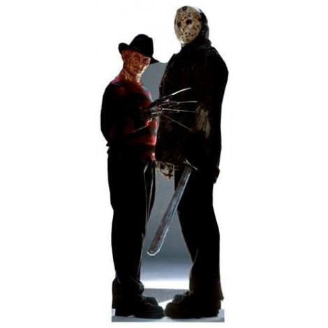 Freddy Vs. Jason Cutout #474