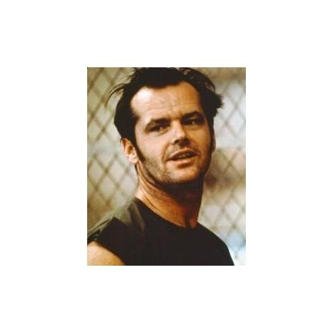 "Jack Nicholson in ""One Flew Over the Cuckoo's Nest"""