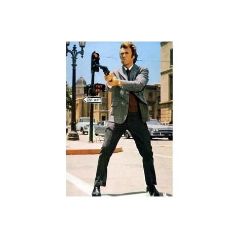 "Clint Eastwood in ""Dirty Harry"""