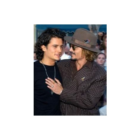 Orlando Bloom and Johnny Depp