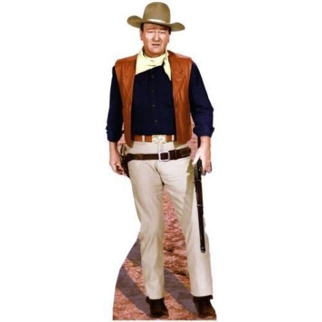 John Wayne 'Rifle' Cutout #495