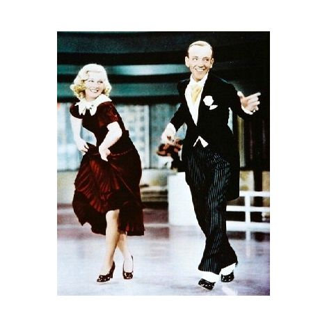 Fred Astaire and Ginger Rogers movie still