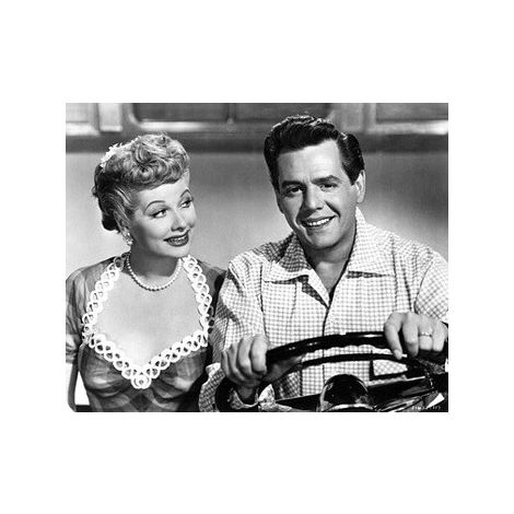 Lucille Ball and Husband movie still