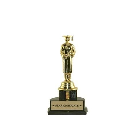 Personalized Graduation Trophies - Male