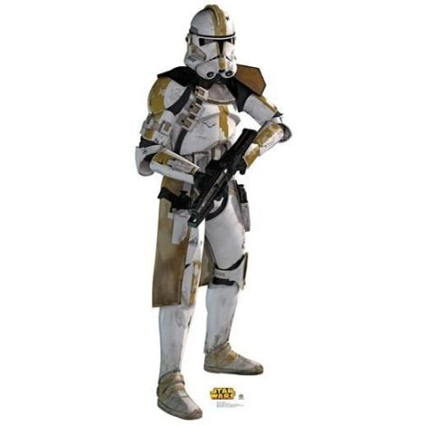 Yellow Clone Trooper  Cutout