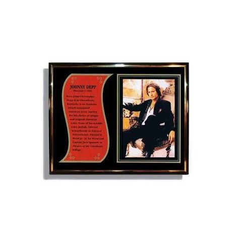 Johnny Depp Commemorative