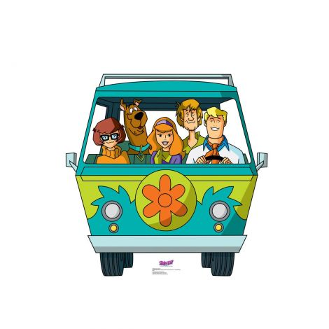 Mystery Machine Mystery Incorporated Cardboard cutout #2498