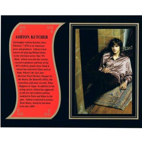 Ashton Kutcher commemorative