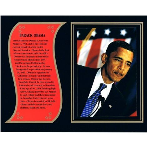 Barack Obama commemorative