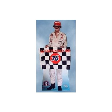 "NASCAR Richard ""The King"" Petty Cutout - 1984, 200th Victory"