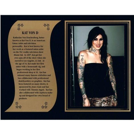 Kat Von D commemorative