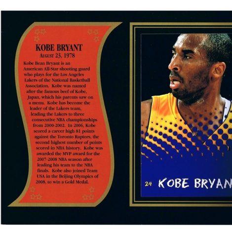 Kobe Bryant commemorative
