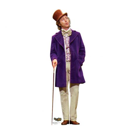 Willy Wonka Cardboard Cutout #2577