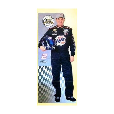 "NASCAR Rusty Wallace ""Last Call"" Cutout"