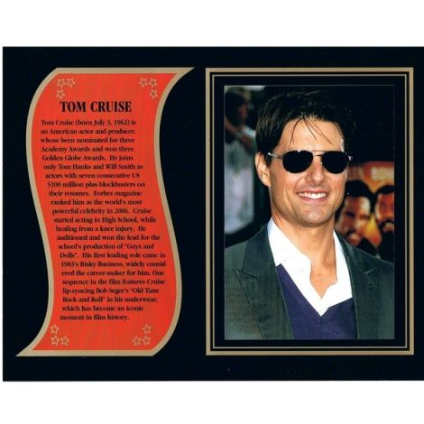 Tom Cruise commemorative