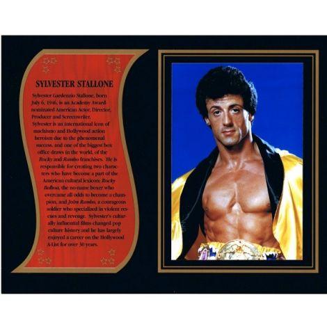 Sylvester Stallone commemorative