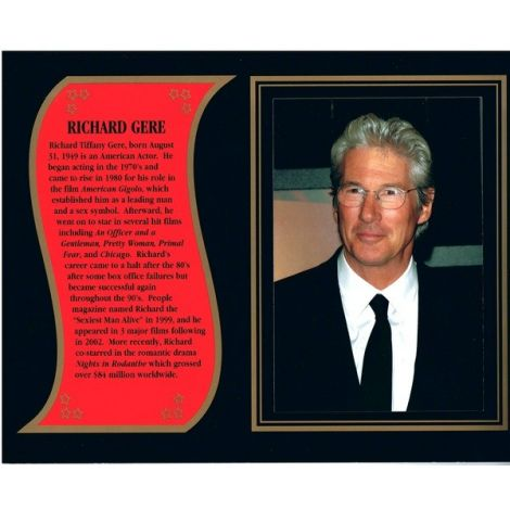 Richard Gere commemorative