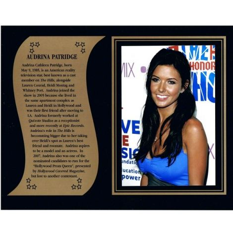 Audrina Padridge commemorative