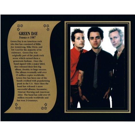 Green Day commemorative