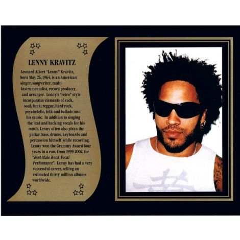 Lenny Kravitz commemorative