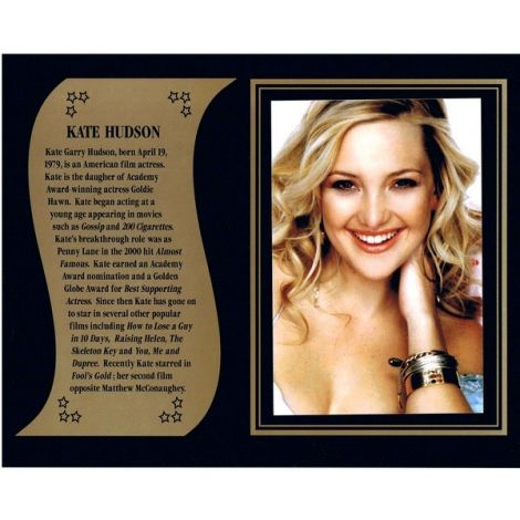 Kate Hudson commemorative