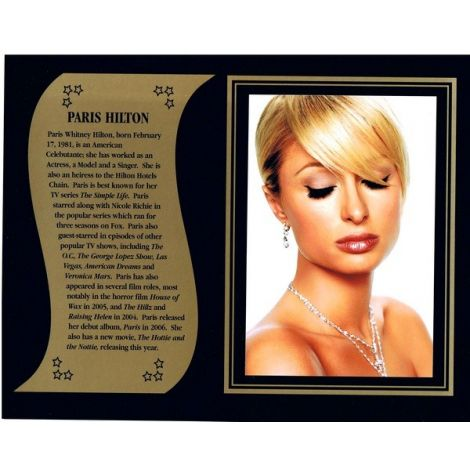 Paris Hilton commemorative