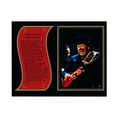 Carlos Santana commemorative