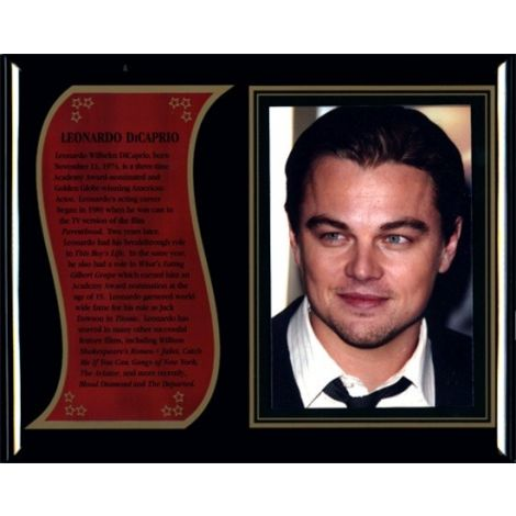 Leonardo DiCaprio Commemorative