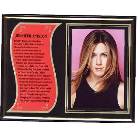 Jennifer Aniston commemorative