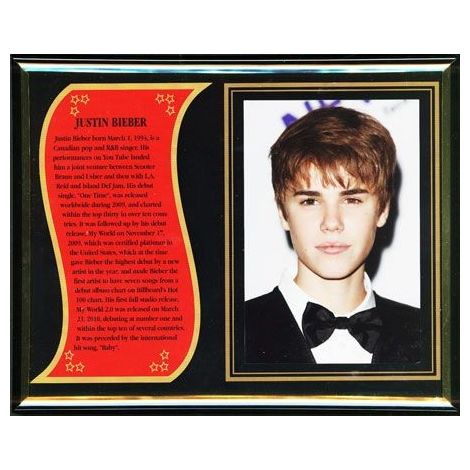 Justin Bieber Commemorative