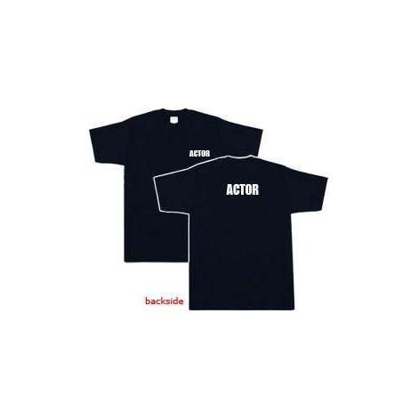 Actor T-shirt - Black