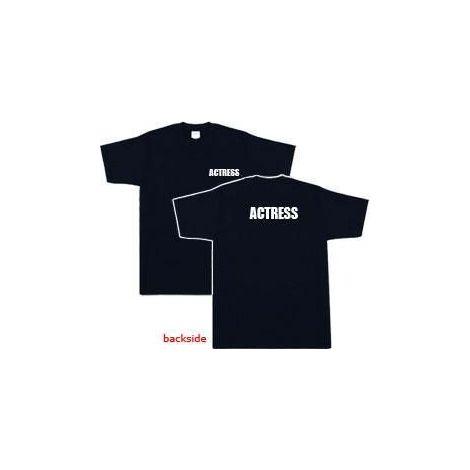 Actress T-shirt - Black