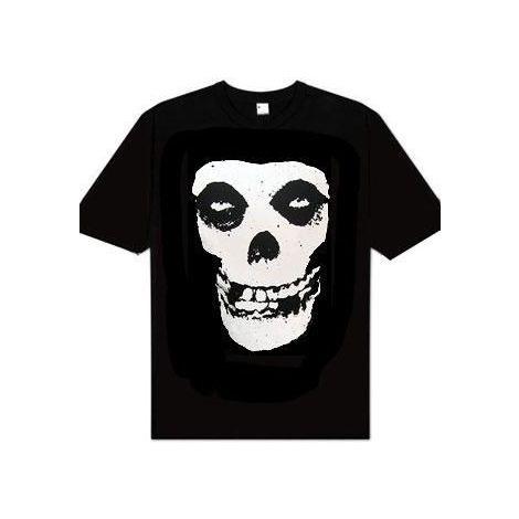 Misfits Skull Logo T-shirt-X- Large