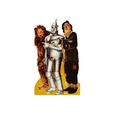 Lion, Tinman, & Scarecrow Cutout